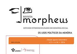 Capa da Revista Morpheus Volume 9, número 16.