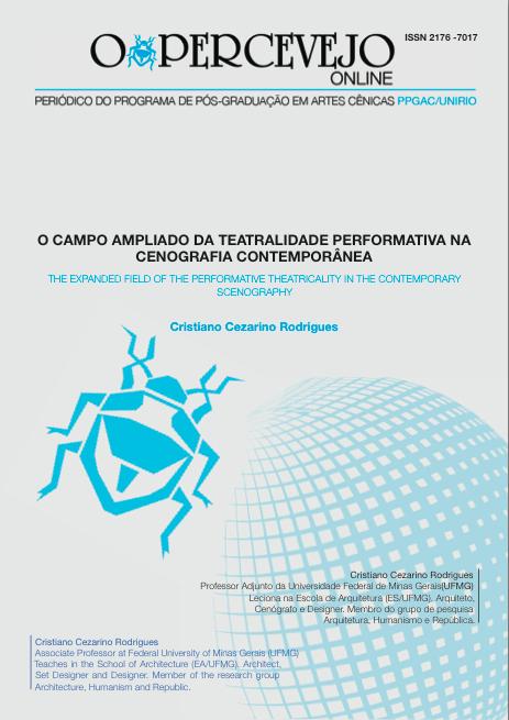 O CAMPO AMPLIADO DA TEATRALIDADE PERFORMATIVA NA CENOGRAFIA CONTEMPORÂNEA