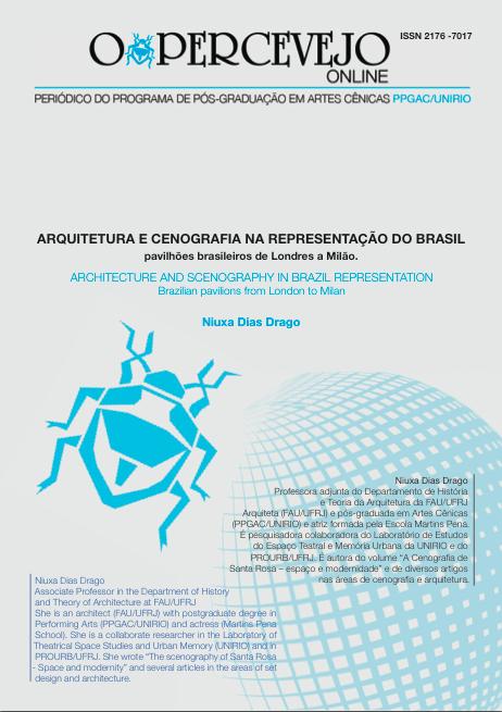 ARQUITETURA E CENOGRAFIA NA REPRESENTAÇÃO DO BRASIL PAVILHÕES BRASILEIROS DE LONDRES A MILÃO