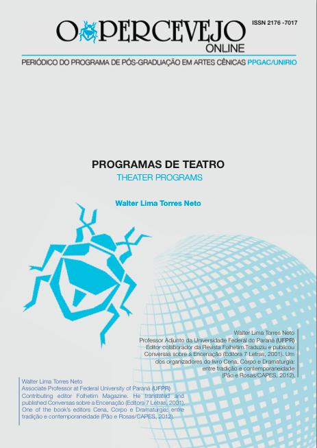 PROGRAMAS DE TEATRO