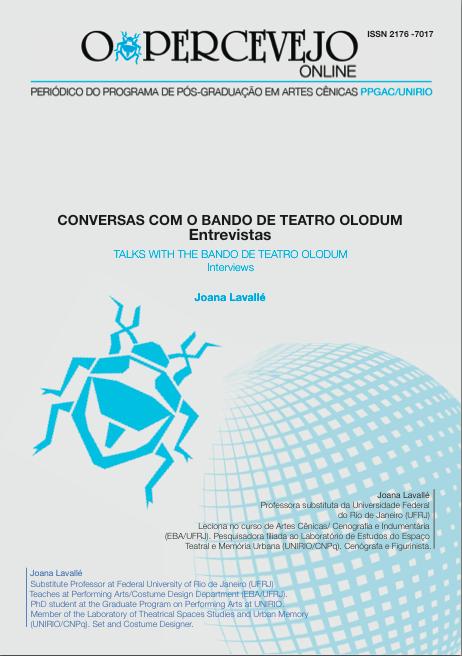 CONVERSAS COM O BANDO DE TEATRO OLODUM - ENTREVISTAS
